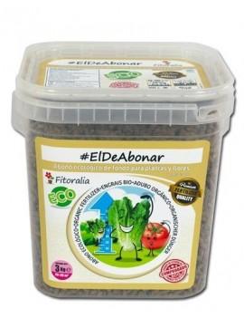 Abono Sólido Eco ElDeAbonar 3 kilo