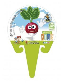 Fresanas Rábano colección Kids plantón ecológico en maceta de 10,5 cm. de diámetro