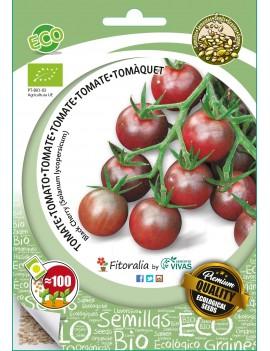 Fresanas semillas ECO tomate cherry Black Cherry