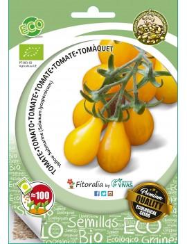 "Fresanas semillas ECO tomate cherry Bombilla Amarillo ""Yellow Submarine"""