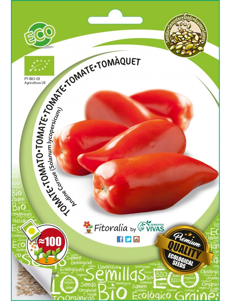 Fresanas Semillas ECO tomate Andine Cornue