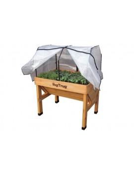 Cubierta invernadero para mesas de cultivo VegTrug Small 100 cm.