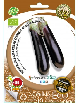 Fresanas semillas ecológicas berenjena violetta lunga 2