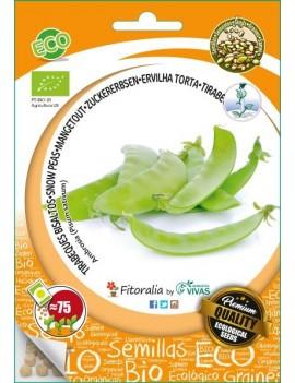Fresanas, semillas eco guisantes tirabeque ambrosia