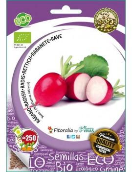 "Fresanas, semillas ecológicas de Rábano ""Saxa 2"""
