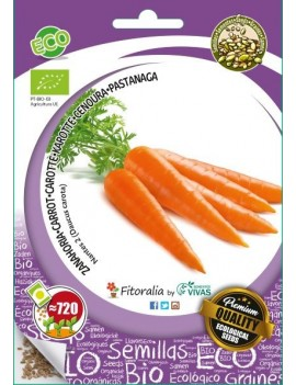 "Fresanas, semillas ecológicas de Zanahoria ""Nantes 2"""