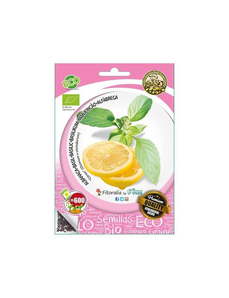 """Fresanas, semillas ecológicas de Albahaca """"Citron"""", limón"""