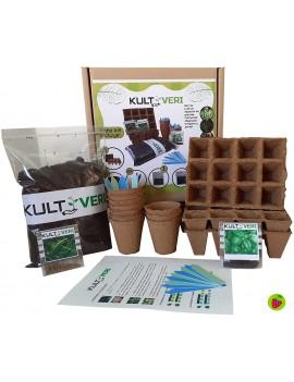 Fresanas set de cultivo de plantas culinarias 35 piezas