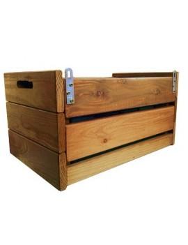 Cajón de cultivo de madera modelo Frutero para jardín vertical