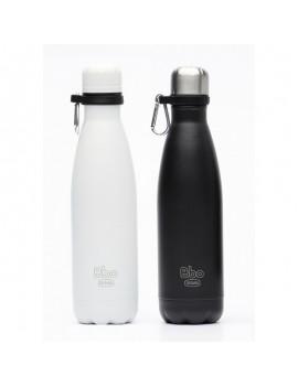Fresanas botella reutilizable termo de acero con funda de neopreno 500 ml  y con mosquetón de regalo