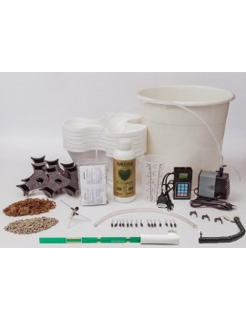 Kit de Cultivo Hidropónico Plus Ecogarden Blanco