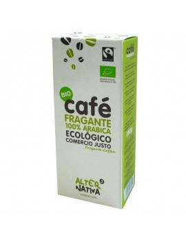 Cafe fragante molido...