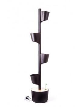 Jardín Vertical WIFI 4 macetas negro