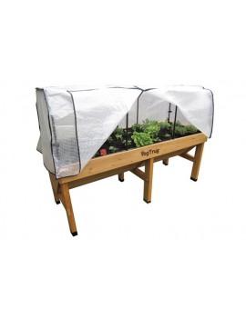 Cubierta invernadero para mesa de Cultivo VegTrug Medium 180 cm.