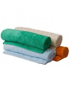 Fresanas toalla microfibra grande 135x105 cm 4 colores a elegir: beige, azul, naranja y verde