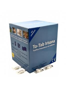 Fresanas To-tab rollo toallitas limpiadoras Irisanas 22x24 cm. caja de 500 unidades