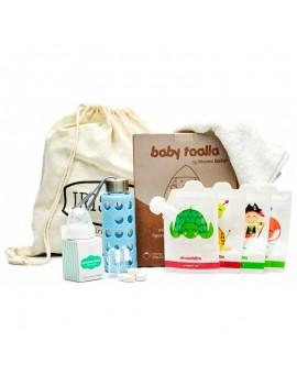 Fresanas canastilla infantil bebé Irisana con mochila de regalo