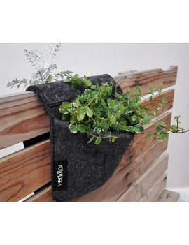 Fresanas jardinera de balcón fieltro