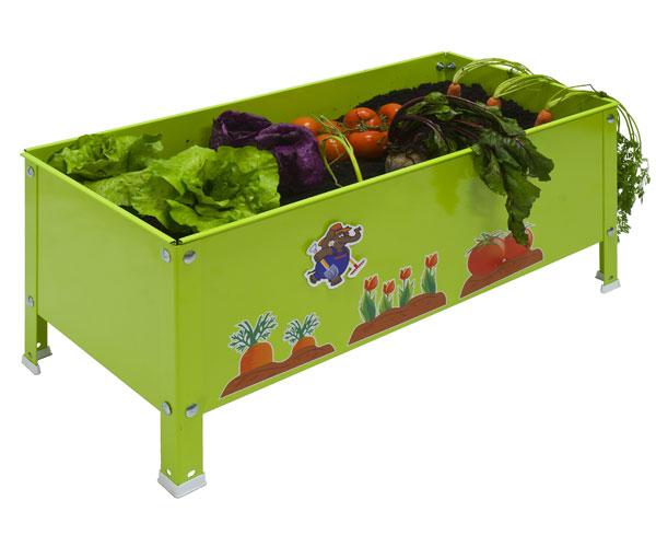 Fresanas mesa de cultivo para niños