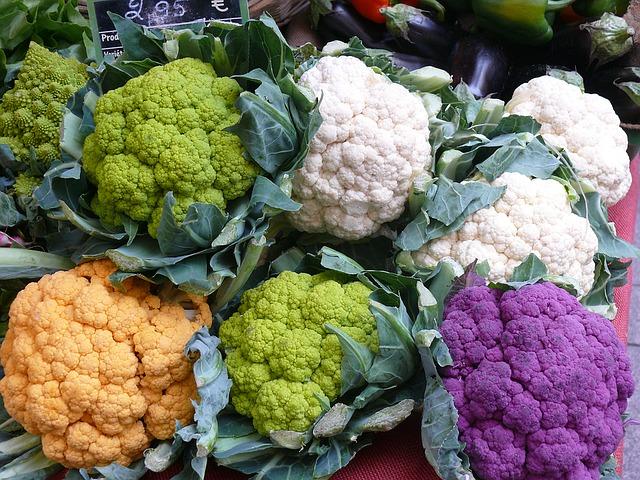 Tipos de coliflor para tu huerto » Consejos sobre huerto urbano / Fresanas