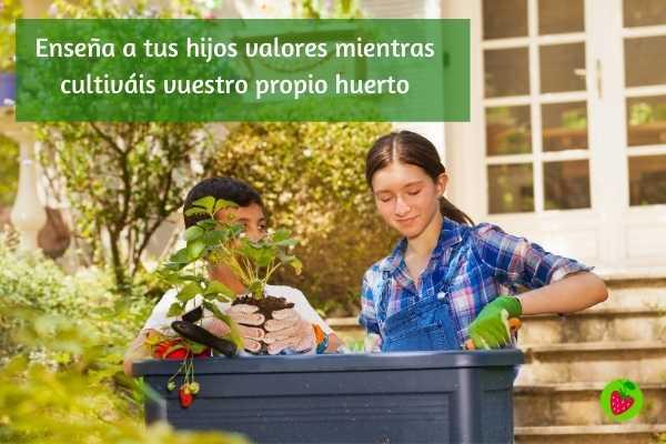 Fresanas cultiva huerto con tus hijos