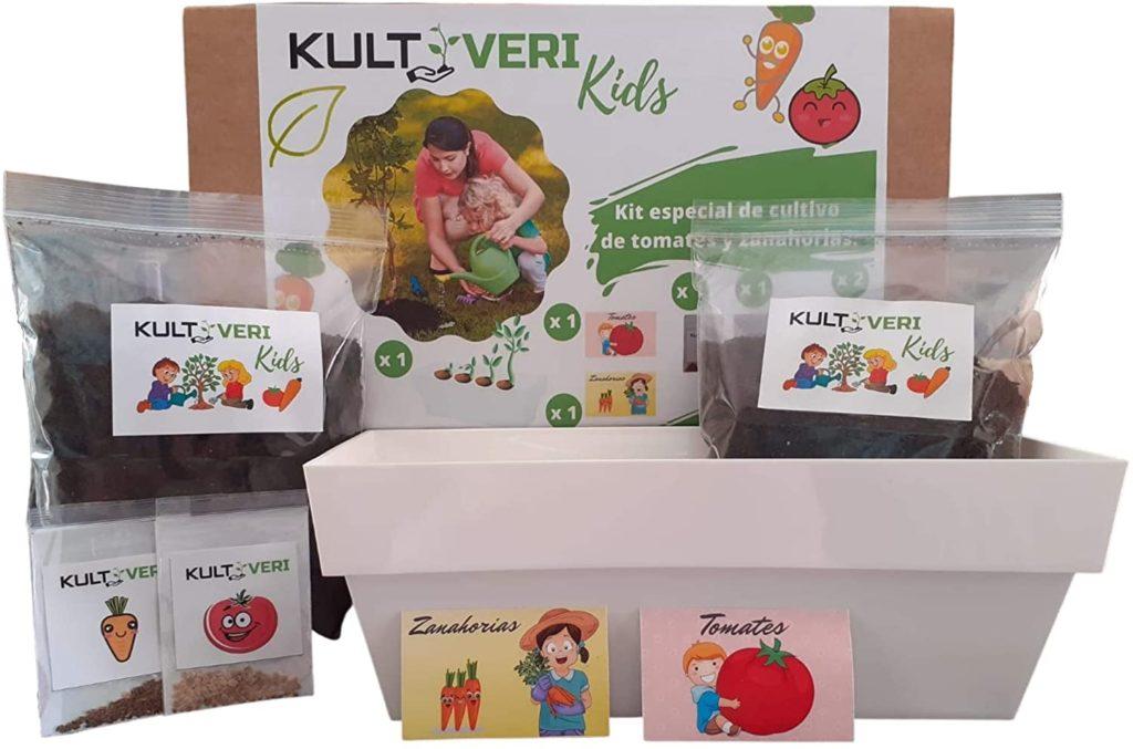 Fresanas set de cultivo para niños mi primer huerto