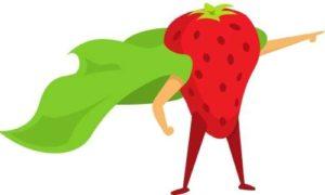 Fresanas plantas de fresas y sus super poderes