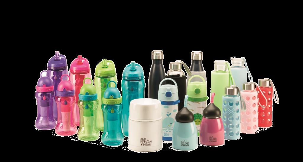 Fresanas botellas vasos y termos reutilizables
