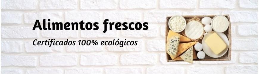 Alimentos ecológicos frescos